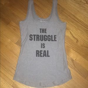 Tops - The Struggle Is Real tank